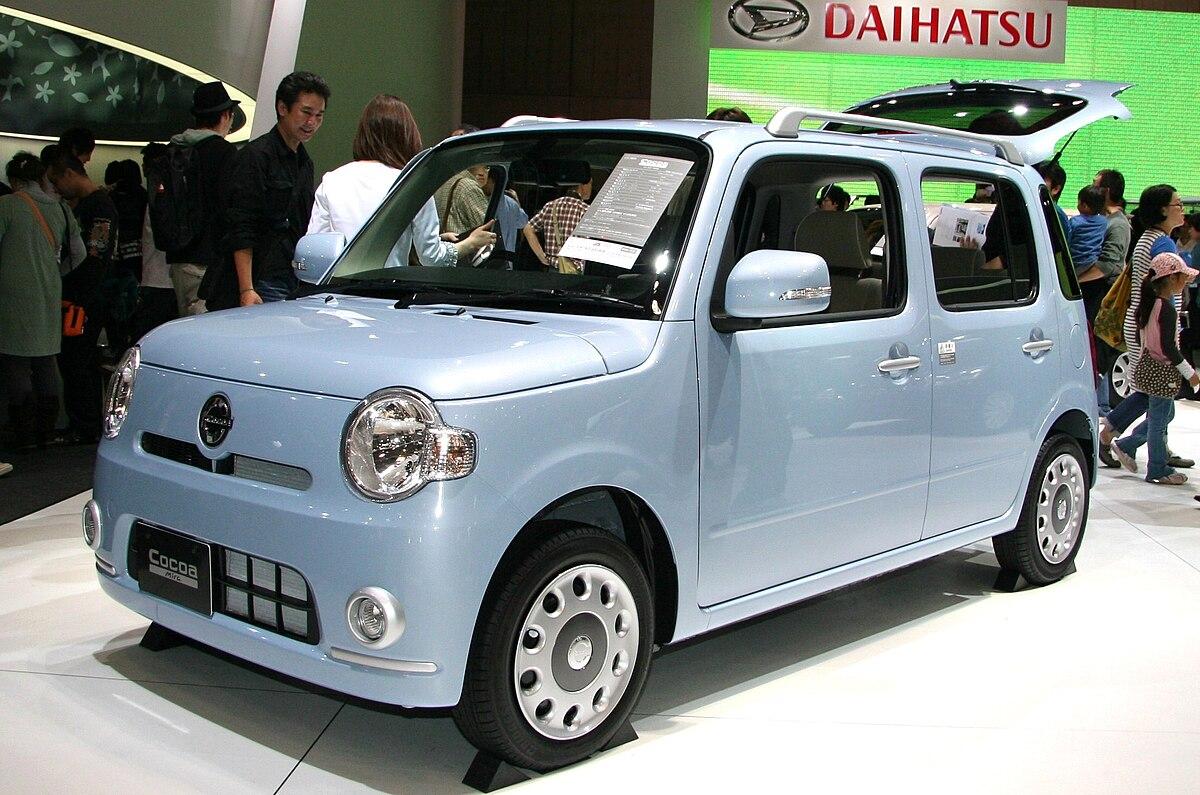 Daihatsu Mira Cocoa Wikipedia - Cocoa car show