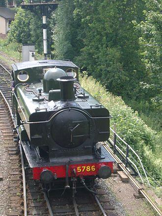South Devon Railway (heritage railway) - Image: Dampflok Buckf