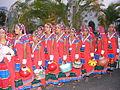 Dancers wearing traditional dress of the Banjara Lamadi or Lambani tribe in Andhra Pradesh DSCF7370 (1).JPG
