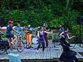 Dancing and the band on the dock at the quarry (27773504230).jpg