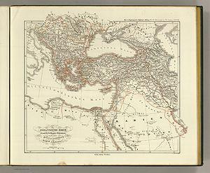 Eyalet - Image: Das osmannische Reich und dessen Schutz Staaten, nach seiner grossten Ausdehnung im XVI Iten Jahrhundert