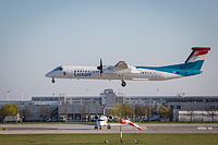 LX-LGM - DH8D - Luxair
