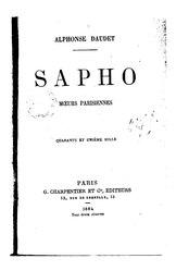 Alphonse Daudet: Sapho