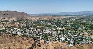 Daulatabad, Maharashtra - View of Daulatabad city