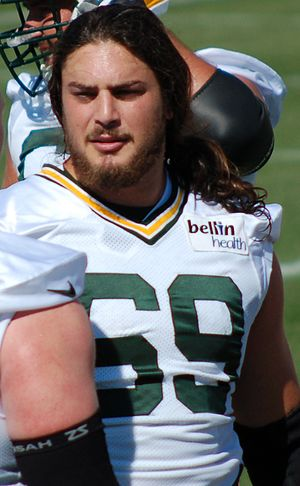 David Bakhtiari - Bakhtiari with the Green Bay Packers in 2015