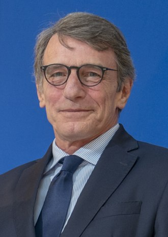 David Sassoli, president of the European Parliament David Sassoli 2020 (cropped).jpg