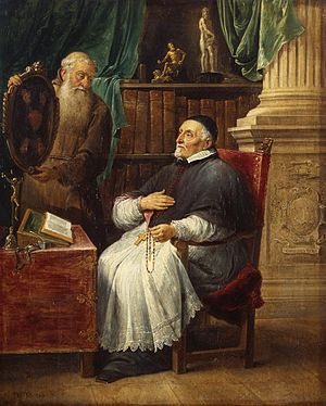 Anthonius Triest - Portrait of Anthonius Triest and his brother by David Teniers the Younger