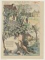 De vos en de druiven (titel op object) Fabel van La Fontaine (serietitel op object) Imagerie Artistique Série 6 (serietitel op object), RP-P-OB-205.870.jpg