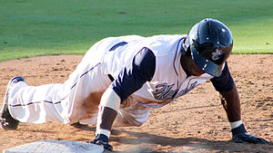 Delino DeShields Jr. - DeShields with the Corpus Christi Hooks in 2014