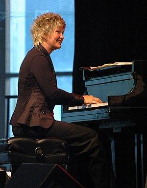 Dena DeRose - Dena DeRose at the Litchfield Jazz festival in 2009, taken by Ed Newman