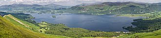Derwentwater - Image: Derwent Water Panorama, Lake District June 2009