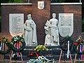 Detail Monument voor gevallenen 1940-1945 Zuilen Prins Bernhardplein Utrecht.JPG