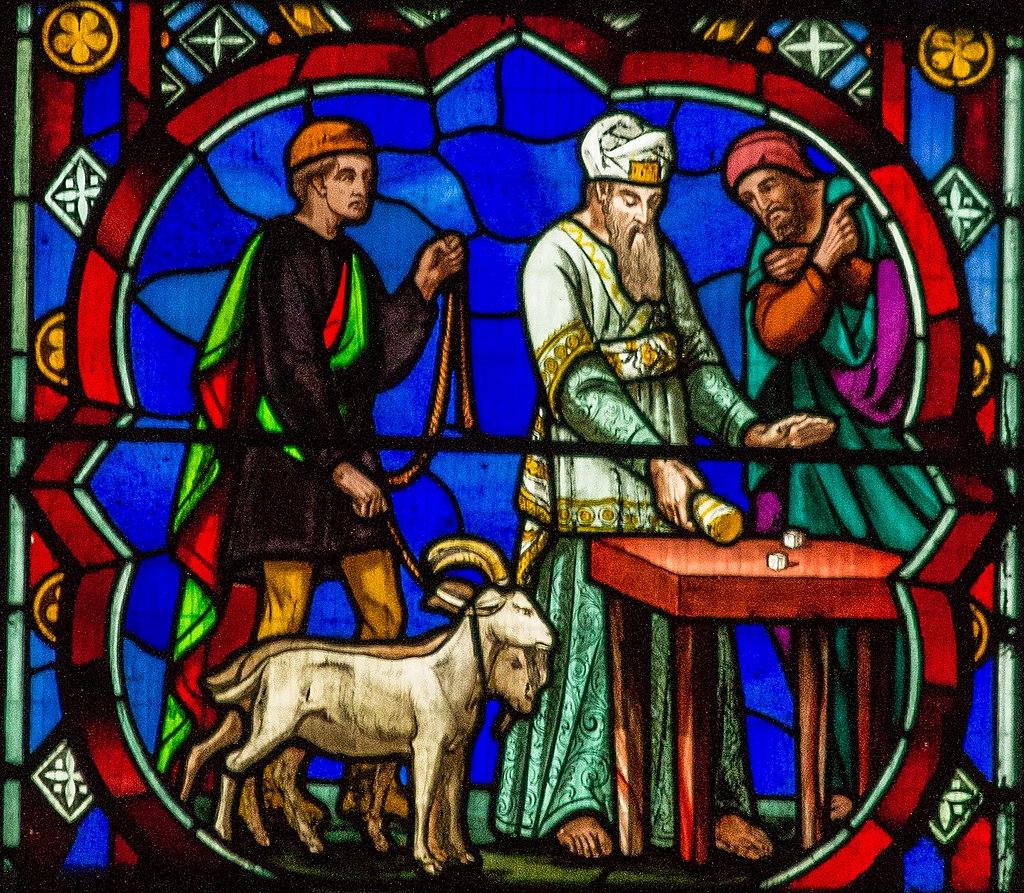 Деталь восточного окна Линкольнского собора (14224253959) .jpg