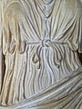 Detail of Roman-Era Sculpted Dress - Museum at Butrint Archaeological Site - Butrint National Park - Albania (42317013312).jpg