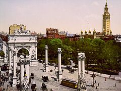 Dewey Arch 1900 Color.jpg