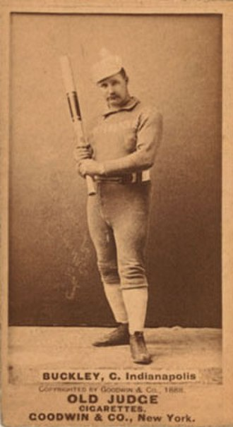 Dick Buckley (baseball) - Image: Dick Buckley 1887