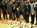 Dick Vitale at 2011 Calihan Hall dedication.jpg