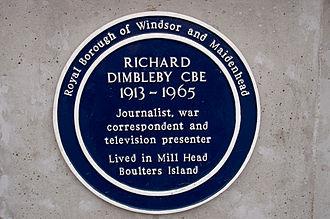 Richard Dimbleby - Image: Dimbleby 1 wyrdlight