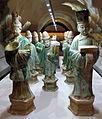 Dinastia ming, corteo funerario in ceramica sancai, 1368-1644 ca. 03.JPG