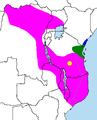 Distribution Rhynchocyon.PNG