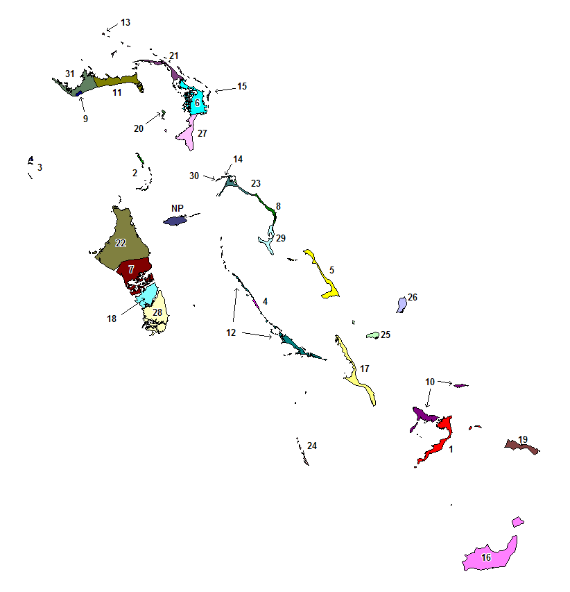 Districts of the Bahamas