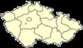 Dobris Czech town location 2.png