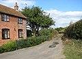 Dodgers Lane past Corner Cottage - geograph.org.uk - 1536881.jpg