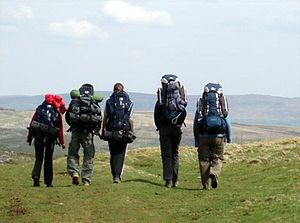 The Duke of Edinburgh's Award - A Duke of Edinburgh group on their expedition, 2008