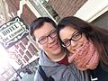 Dominic and Lori, Amsterdam 2013.jpg