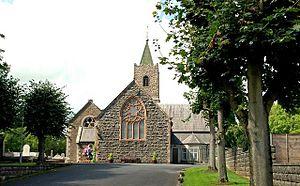 Waringstown - Image: Donaghacloney (Co I) parish church, Waringstown (1) geograph.org.uk 1433242