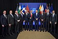 Donald Trump at 2019 NATO 2%-ers Meeting.jpg