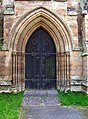 Door of the old St.Michael and All Angels Church - geograph.org.uk - 990076.jpg