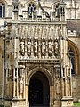 Doorway Gloucester Cathedral - geograph.org.uk - 1736608.jpg