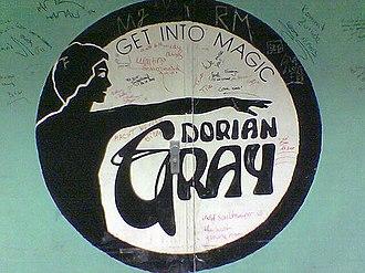 Techno - Doorway to Dorian Gray in Frankfurt, famed for the Technoclub by Talla 2XLC