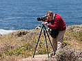 Douglas Osheroff photographing along CA-1 May 2011 002.jpg