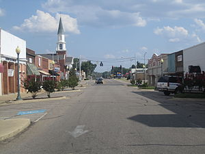 Hope, Arkansas - Downtown Hope