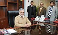 Dr. C.P. Joshi assumes the charge of the Union Minister for Road Transport and Highways, in New Delhi on January 20, 2011.jpg