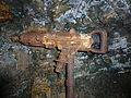 Drucklufthammer (Abbauhammer) im Kilianstollem Marsberg.jpg