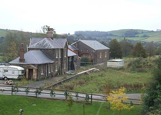 Devon and Somerset Railway - Dulverton station as it is today