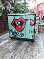 Dumpster, Richardson Civic Center, Greensboro, NC (48987463768).jpg