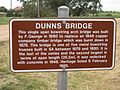 Dunns Bridge sign, Balaklava.JPG