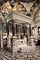 Duomo di genova, cappella di s. giovanni battista, altare del 1950 e baldacchino di g.g. della porta, guglielmo e nicolò corte, 1532-41, 01.JPG