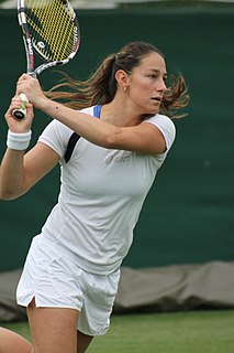 Mariana Duque Mariño Colombian tennis player
