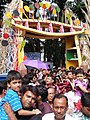 Durga Puja Spectators - New Alipore Suruchi Sangha - Kolkata 2011-10-03 030334.JPG