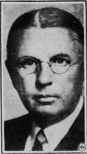 E. Harold Cluett - E. Harold Cluett, New York Congressman.