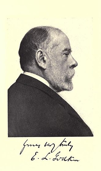 Edwin Lawrence Godkin - Image: E. L. Godkin