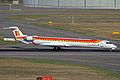 EC-LOJ CRJ.1000 Iberia Express(Air Nostrum) TLS 24SEP13 (9923433266).jpg