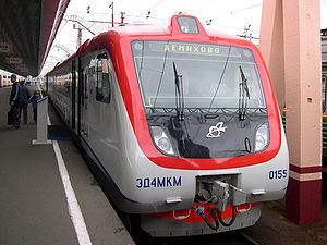 Russian Railways -  Electric ED4MKM