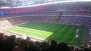 2017 EFL Trophy Final English football match between Coventry City and Oxford United