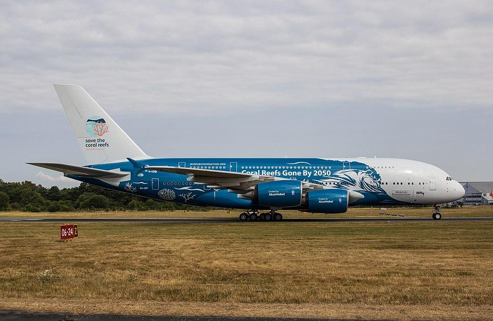 EGLF - Airbus A380 - Hifly - 9H-MIP (42815400504)